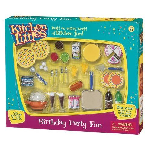 Amazon Com Kitchen Littles Birthday Party Fun Toys Games