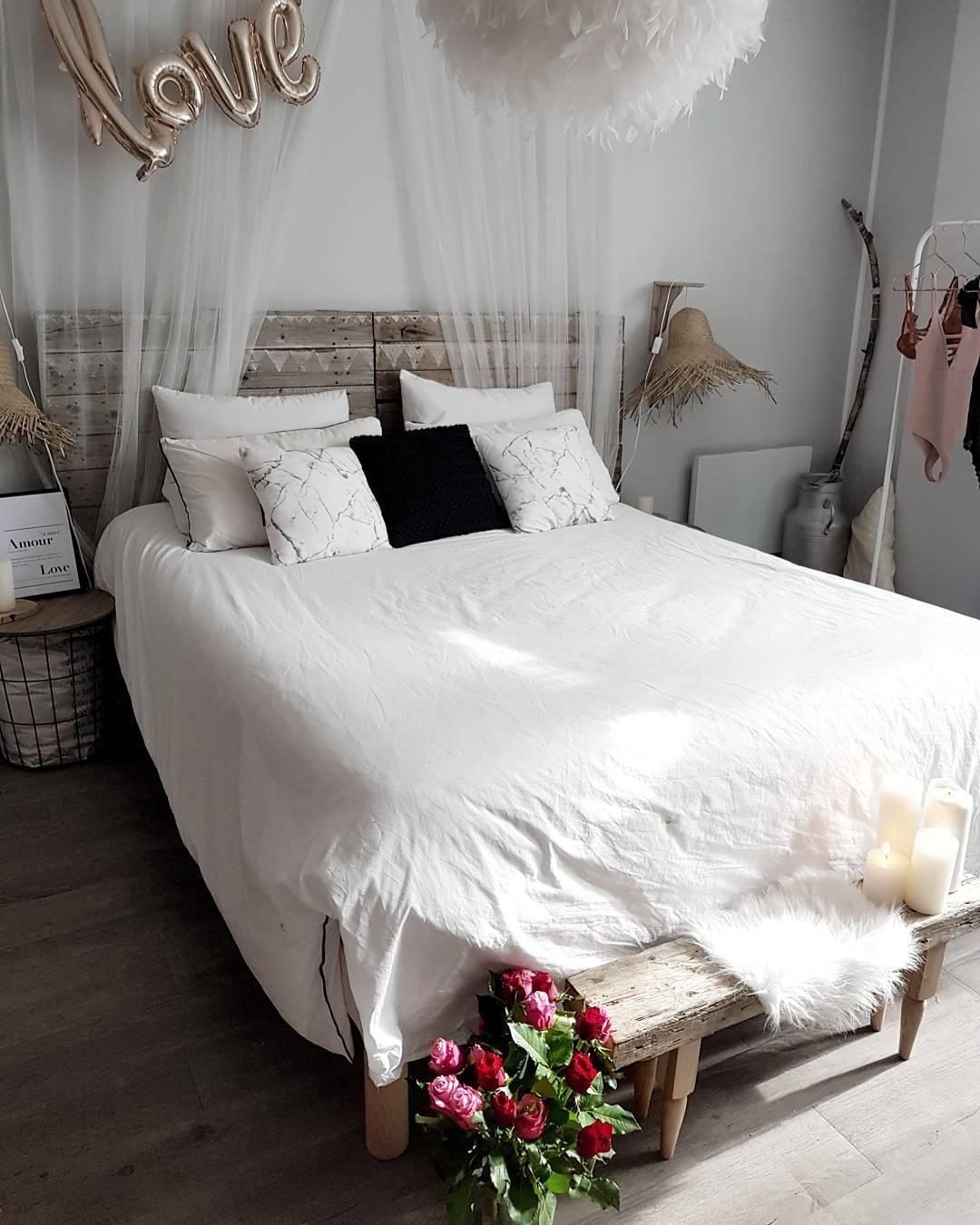 LOVE! Dieses Schlafzimmer lädt zum träumen und kuscheln
