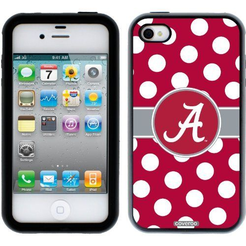 Alabama - Polka Dots design on a Black-Black iPhone 4 / 4S Guardian Case by Coveroo, http://www.amazon.com/dp/B0095ZGZQY/ref=cm_sw_r_pi_awd_pH36rb15HBYG0