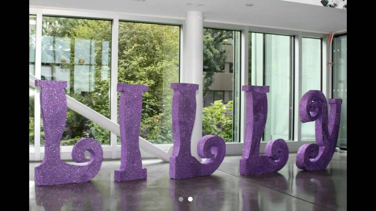 Free Standing Letters Extra Large Styrofoam Glitter Personalized Name White Wedding Decor 230 00 Usd By