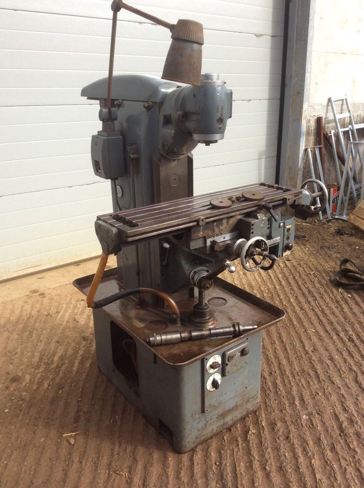 Used Milling Machines Ebay >> Harrison Milling Machine Ebay Billy S Stuff Milling Machine