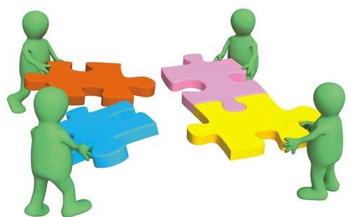 موضوع تعبير عن التعاون ملف كامل وشامل عن التعاون أبحاث نت Stock Illustration Print Design Fashion Puppets
