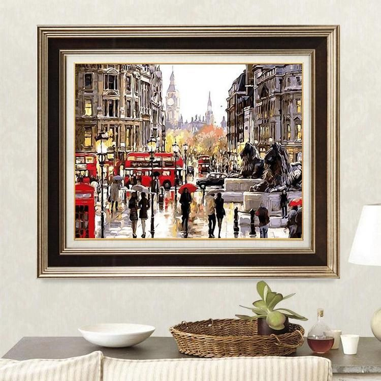 Rainy Day in London VanGo PaintByNumber Kit in 2020