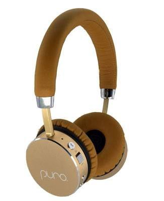Puro Sound Labs The Premium Kids Headphone Kids Volume Limiting Bluetooth Wireless Headphones Tan Gold Wireless Headphones Headphones Kids Headphones