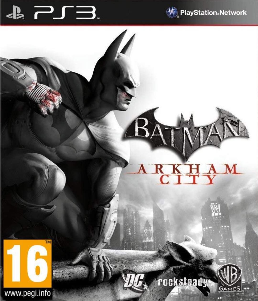 Image May Contain Text Batman Arkham City Arkham City Batman Arkham