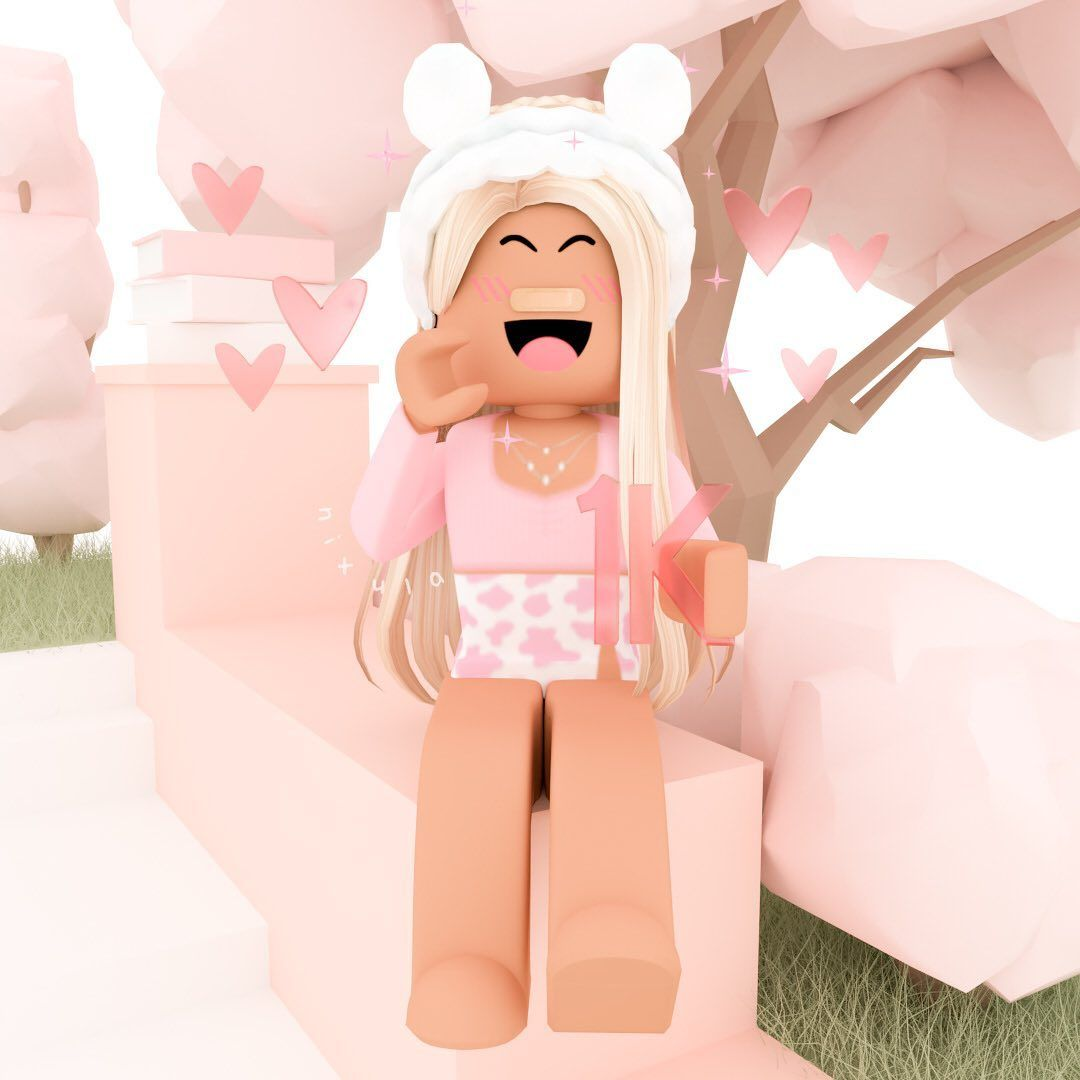 Just Siting Outside In 2020 Roblox Animation Cute Tumblr Wallpaper Roblox Pictures