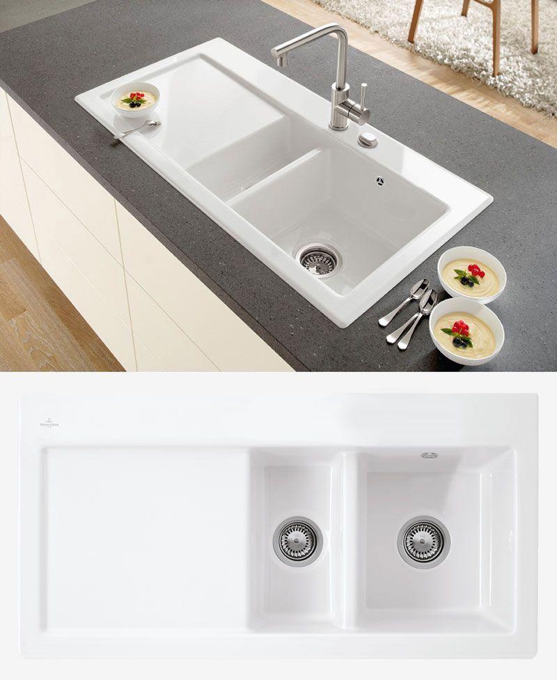 Villeroy Boch Subway 60 Classic Line 1 5 Bowl Sink Lh Drainer Lavelli Cucina Arredamento Lavelli