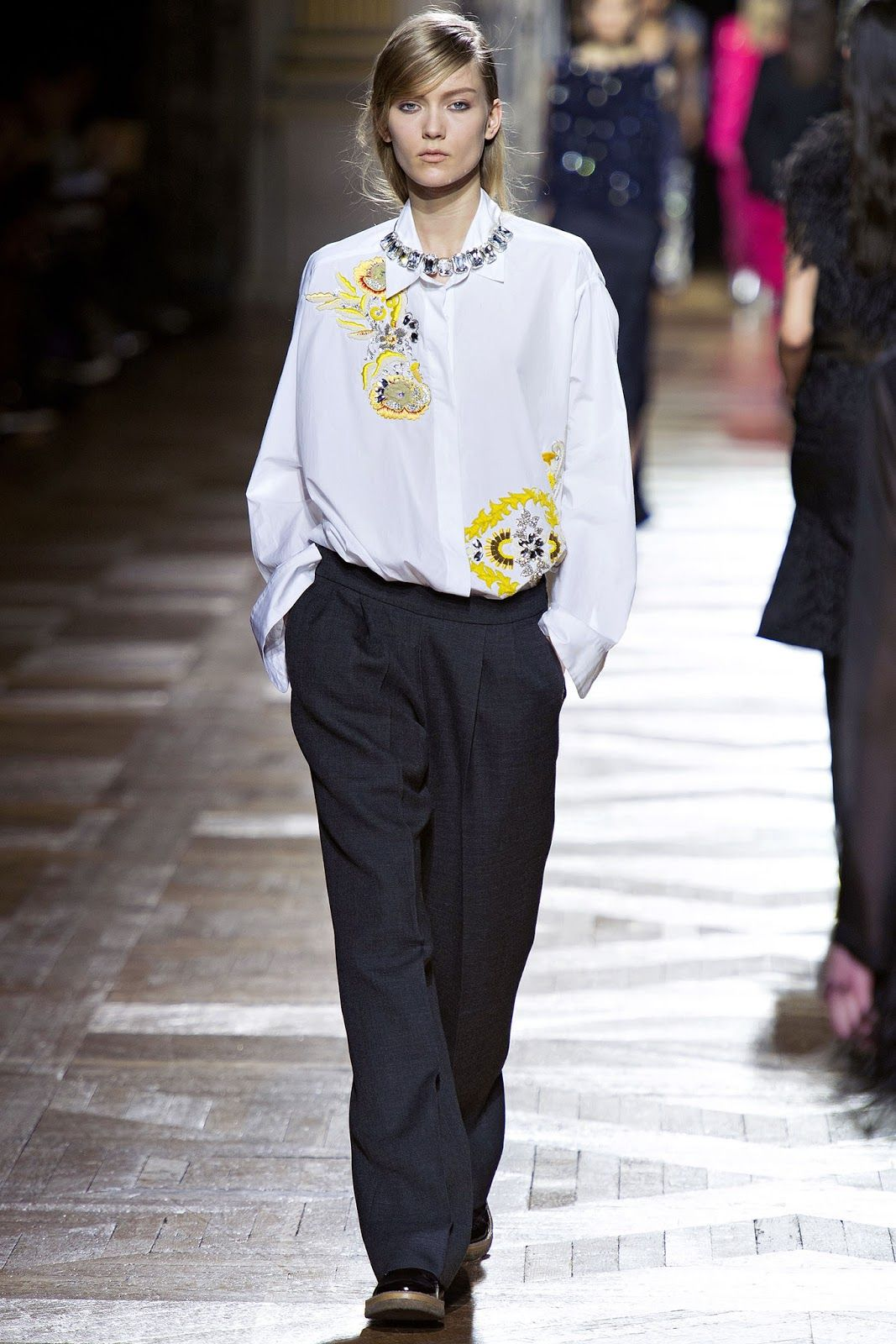 dries van noten f/w 13.14 paris