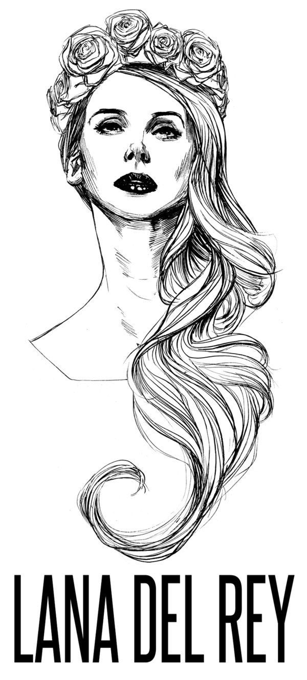 Lana Del Rey Draw Tumblr Google Search Ideias De Tatuagens Imagens Aleatorias Desenho