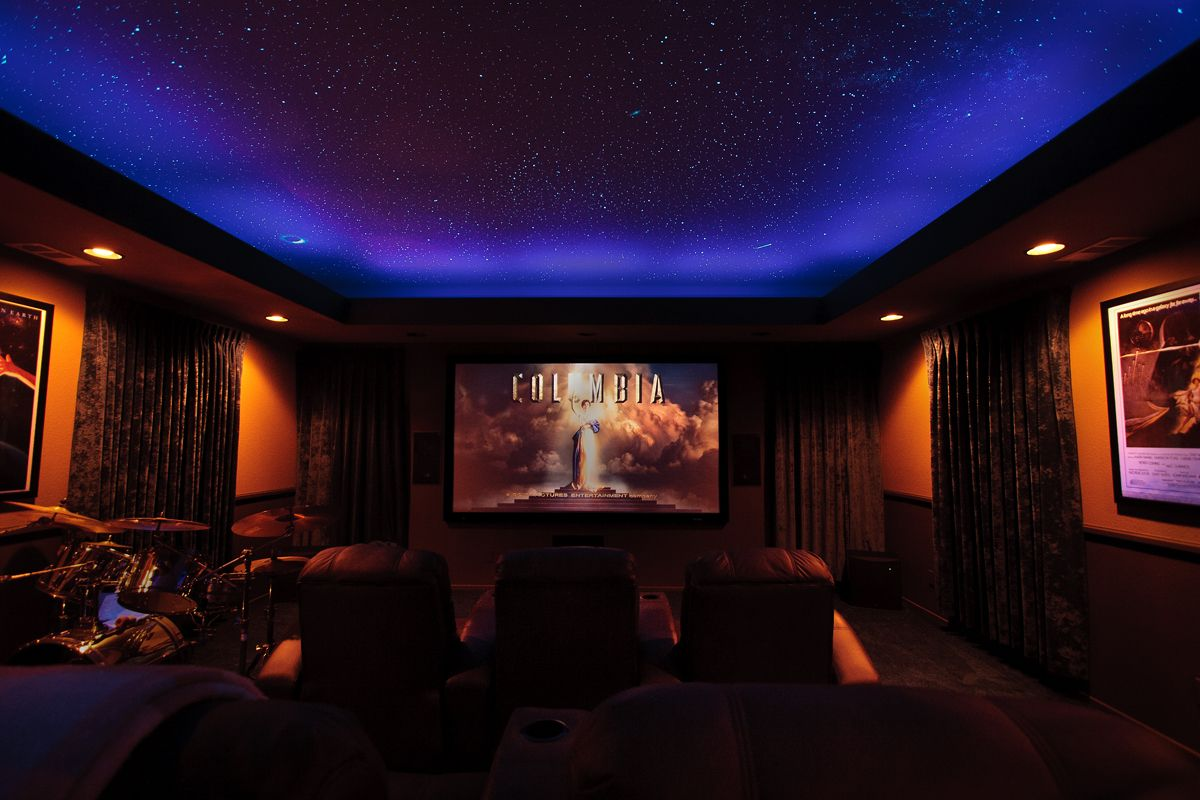 Pin by thkierraaa on Home Theatre | Star ceiling, Sky ...