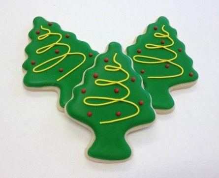 O Christmas Tree Christmas cookies