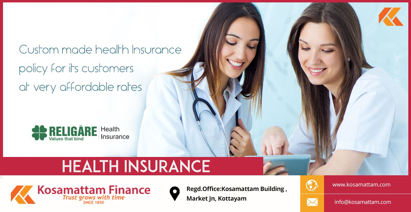 Kosamattam Finance Has United With Religare Health Insurance To