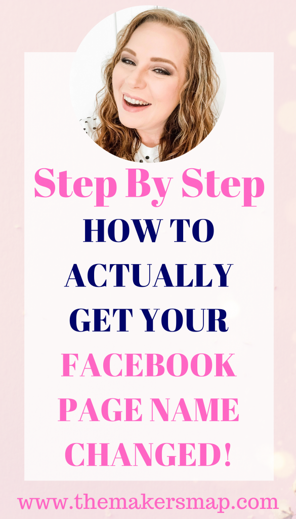 How To Change Your Facebook Page Name In 2020 With Images