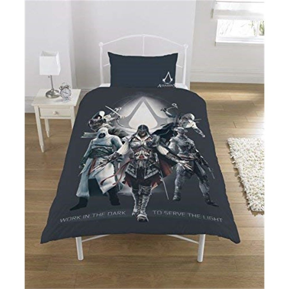 Assassins Creed Serve The Light Single Duvet Bettwaren