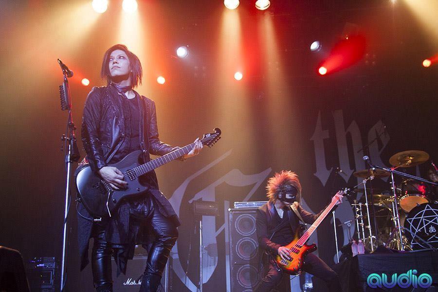 The Gazette - World Tour Dogmatic Trois -  Brazil    April 22, 2016    Aoi, Reita and Kai