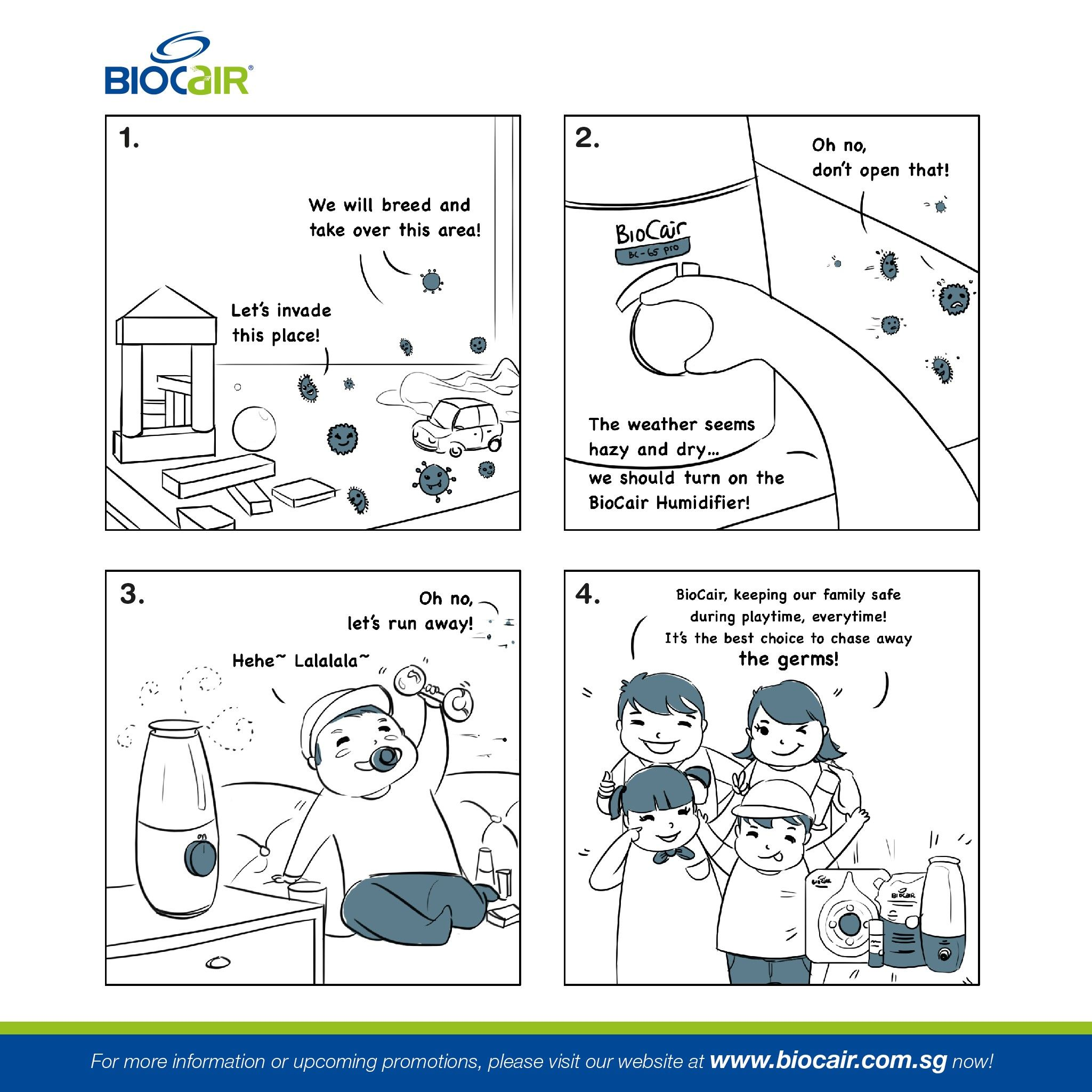 Welcome to BioCair Family Cartoon Series- Episode 5: Have a healthy and happy playtime