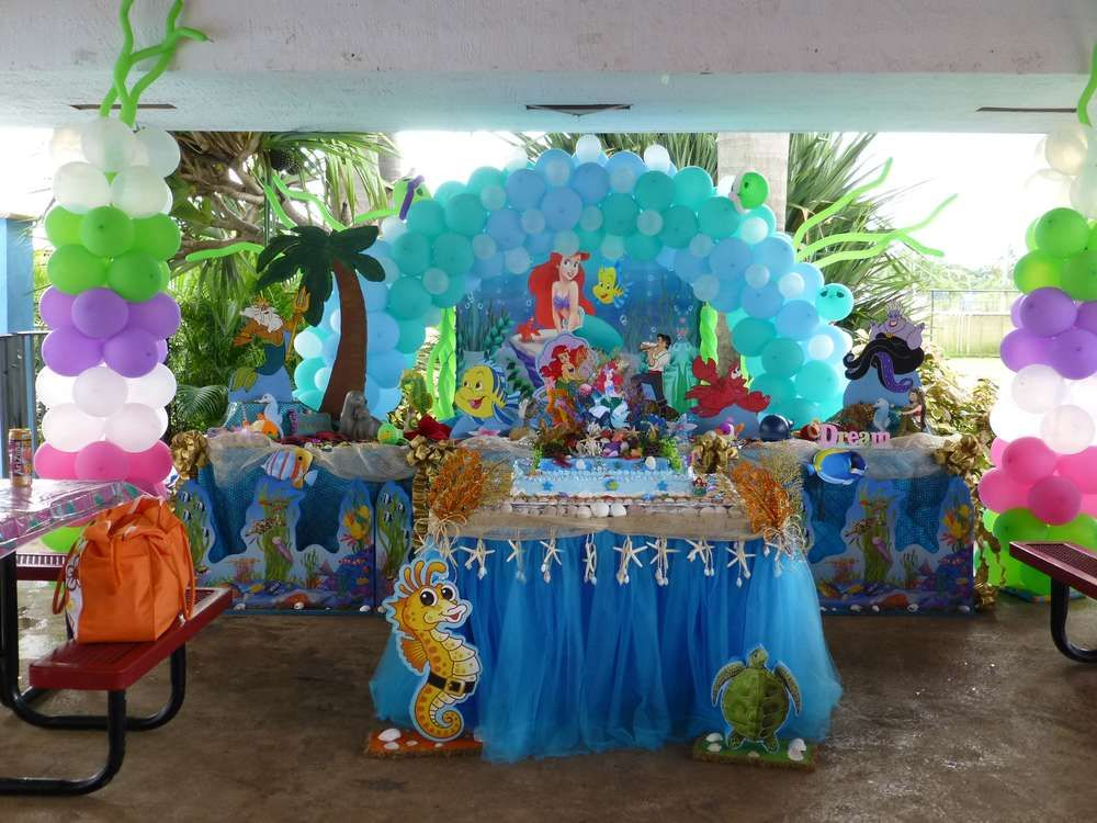 little mermaid birthday party ideas mermaid birthday party ideas