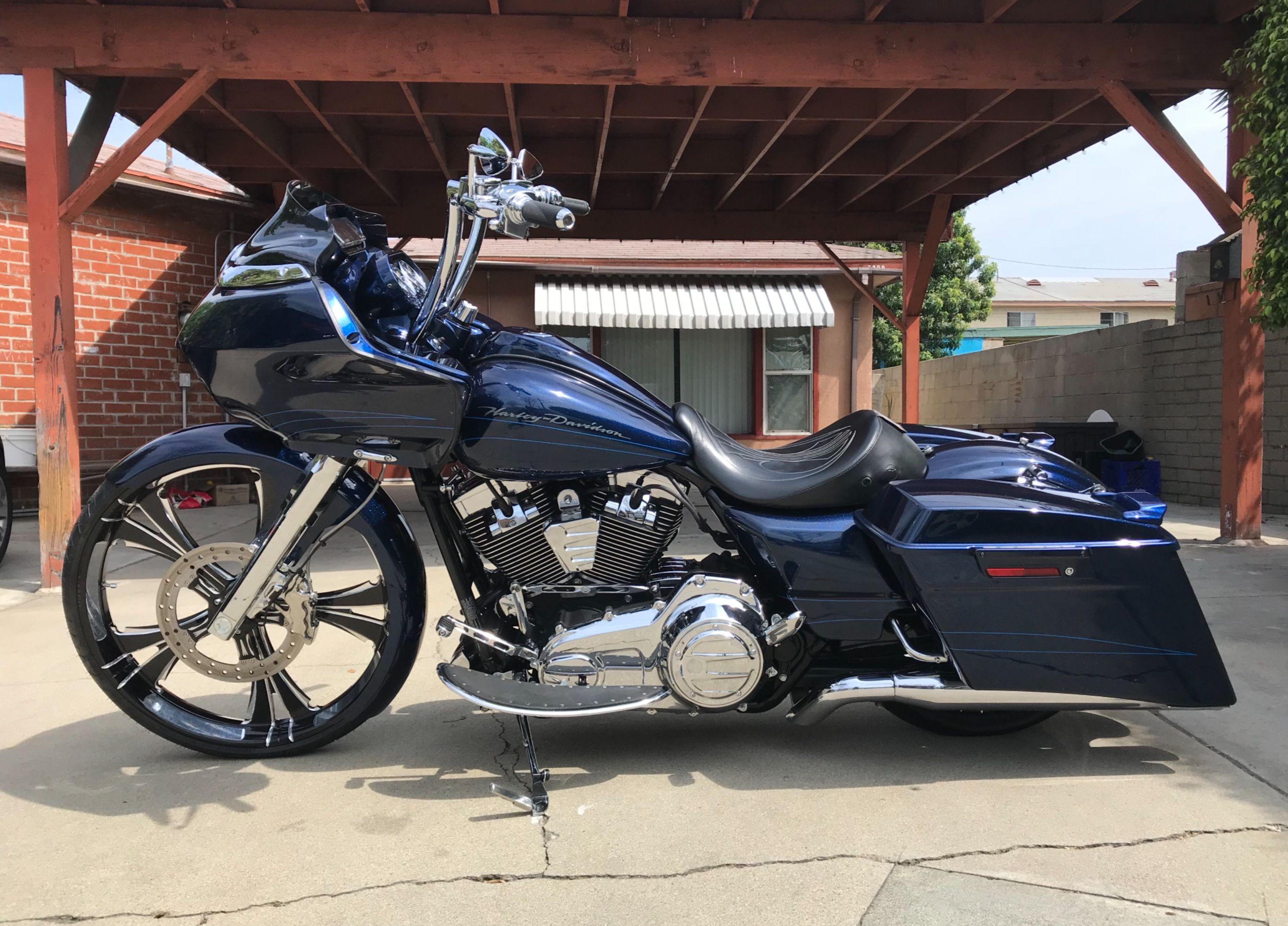 26'' wheel road glide Harley Davidson bagger baggers tricky