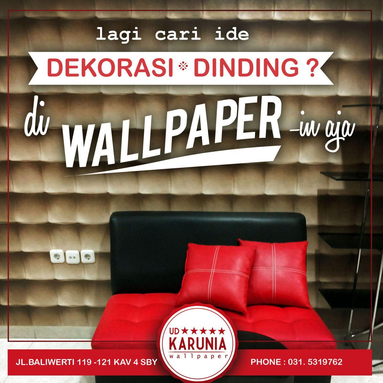 Jual Wallpaper Dinding Efek Timbul 3 Dimensi Surabaya