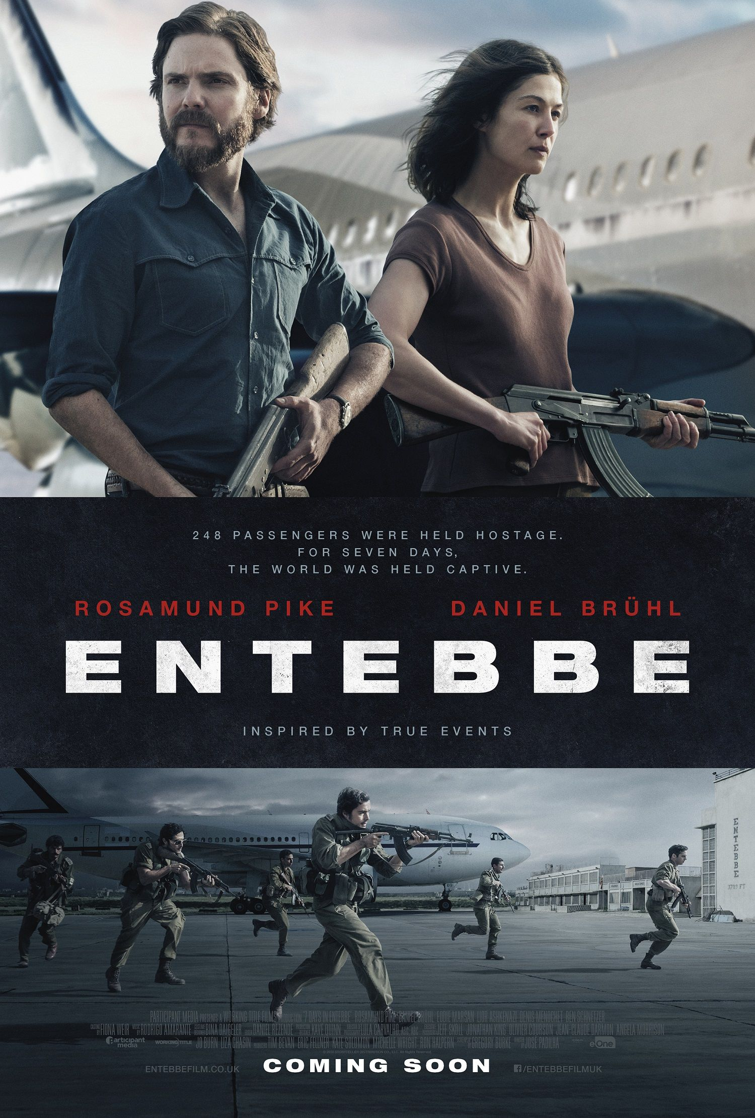 José Padilha's Entebbe gets a new poster Live for Films