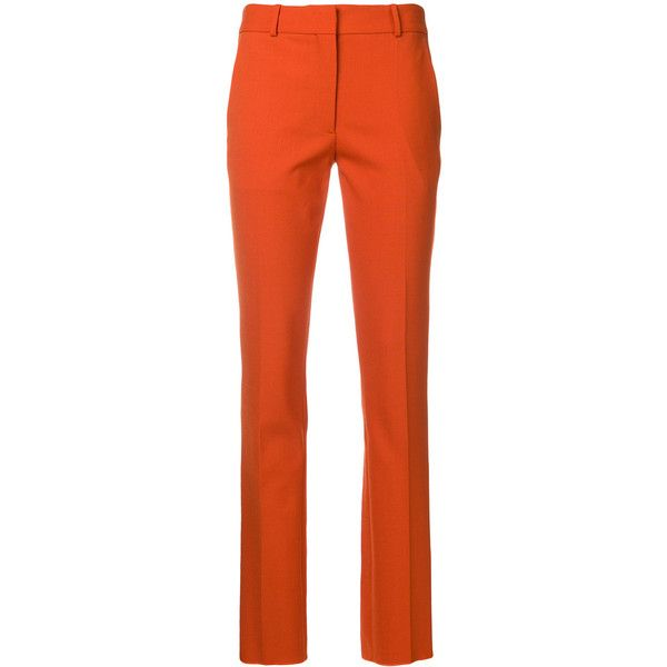 straight tailored trousers - Green Victoria Beckham 7YnfTWf