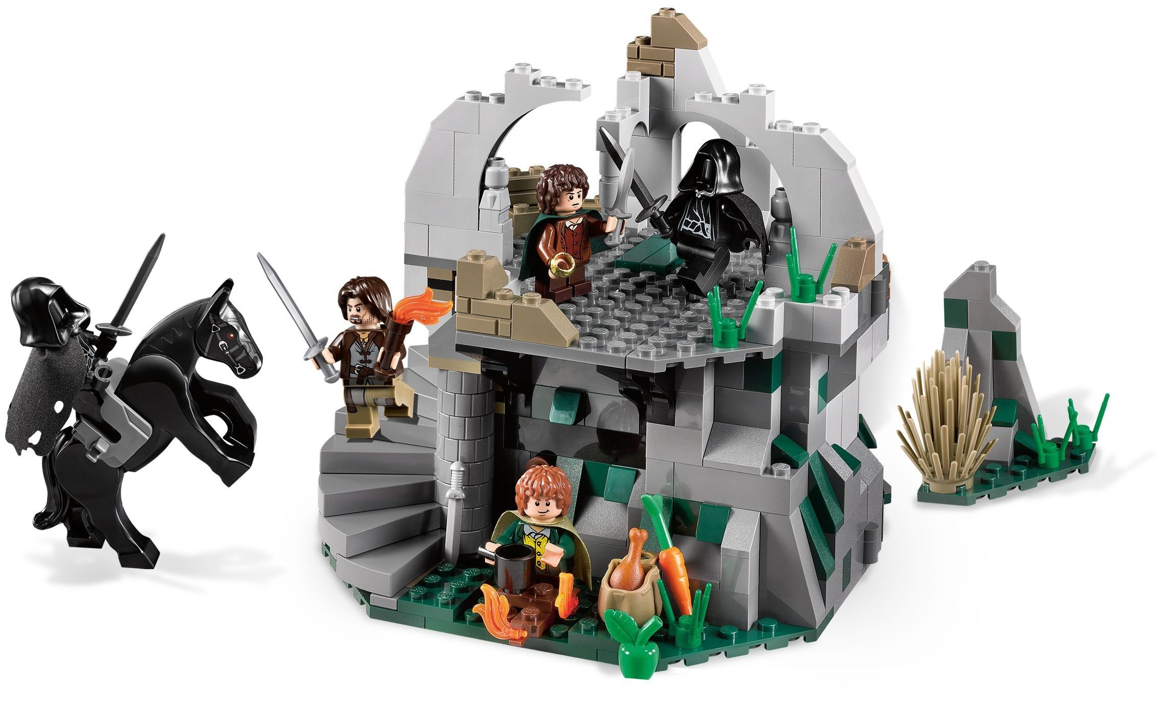 9472 1 Attack On Weathertop With Images Lego Lego Knights