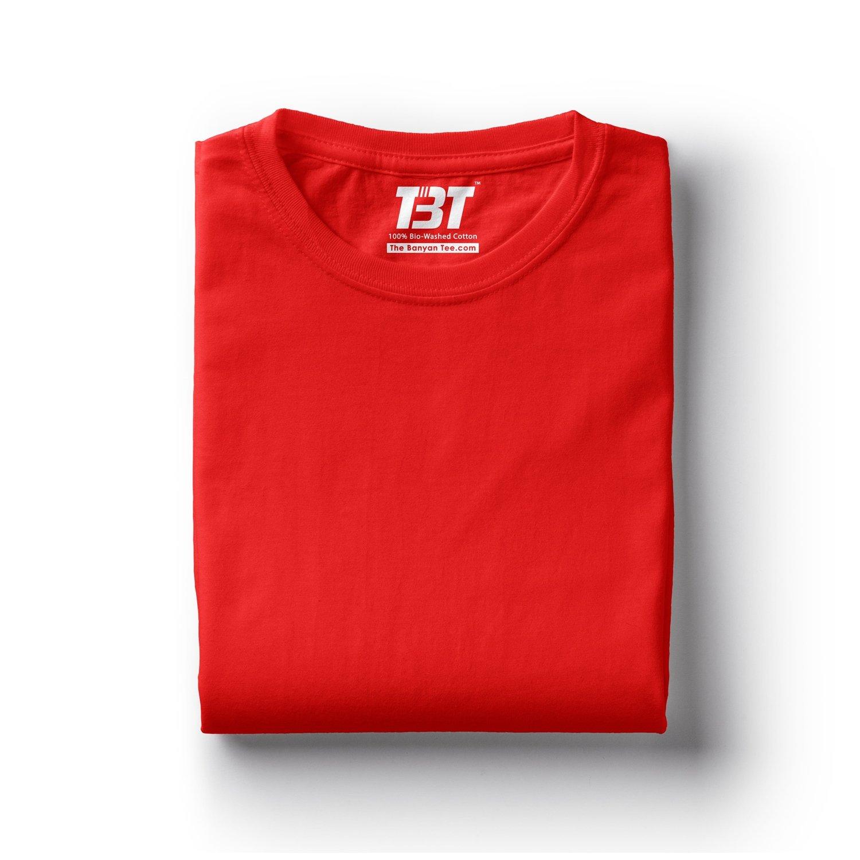 Red T Shirt Plain Red T Shirt Plain Tshirt Red Tshirt