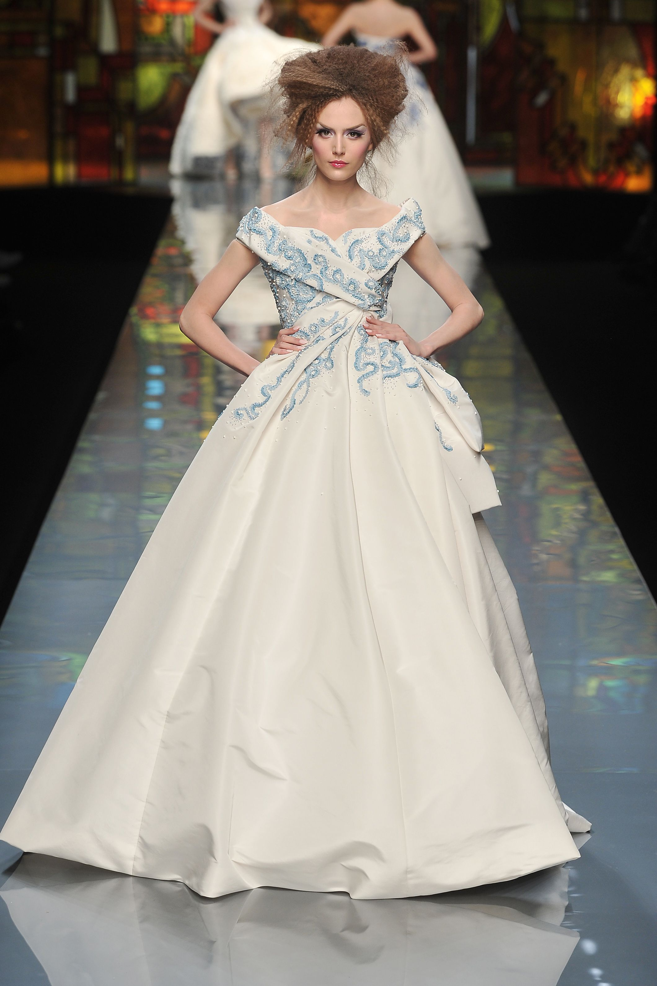 Contemporary Christian Dior Bridal Gowns Ensign - Colorful Wedding ...