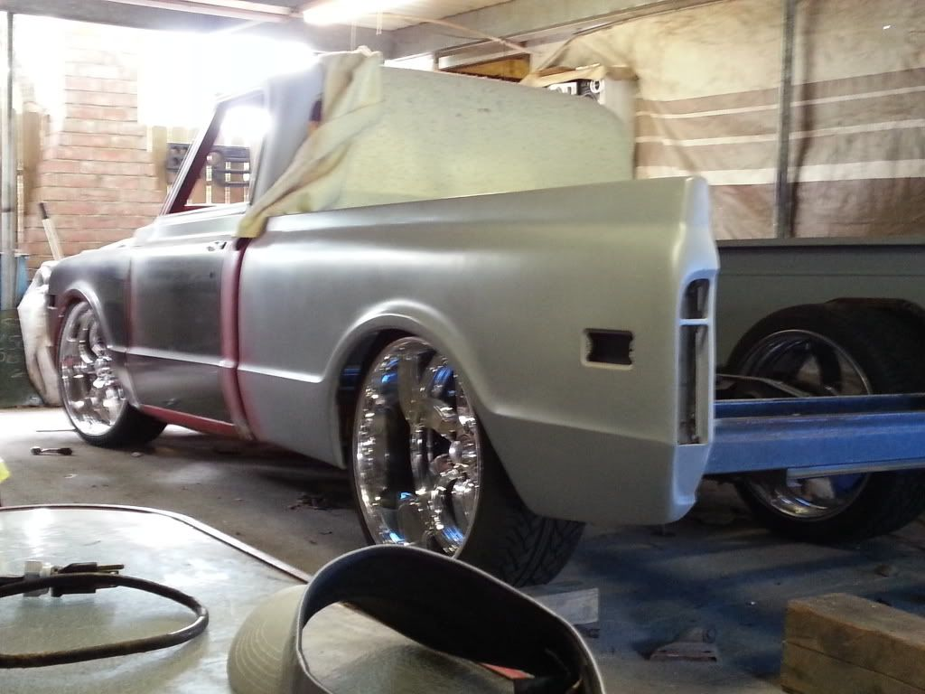 All Chevy chevy c10 20 wheels : Re: 67-72 c10 lowered with big lip | Lowered 67-72 C10s | Pinterest