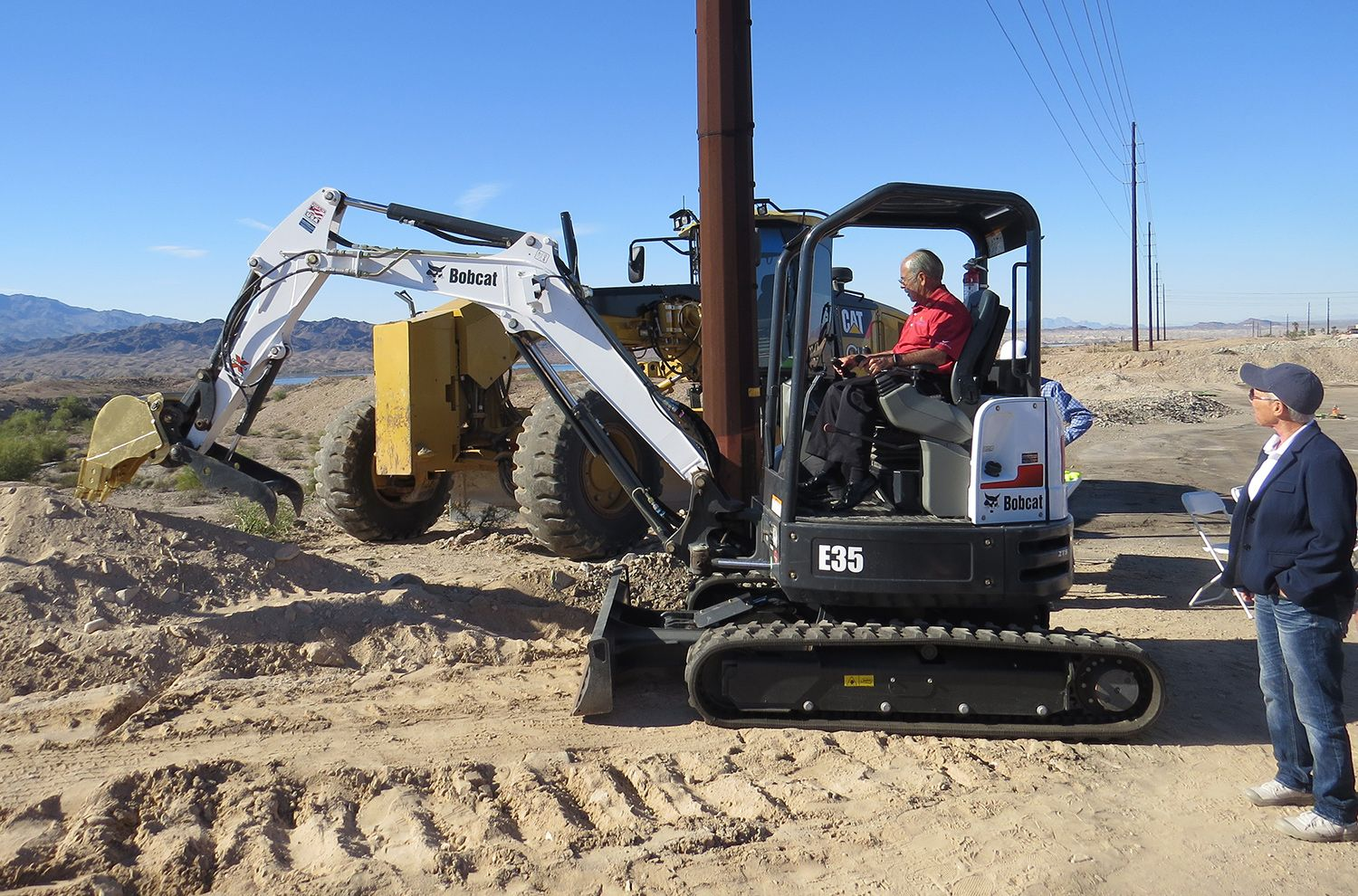 Havasu riviera and contact point state park groundbreaking