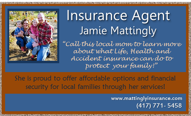 SPONSOR visit Jamie Mattingly Insurance TODAY!! Life