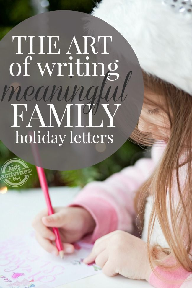 How To Write A NonBraggy Christmas Letter  The Art Of Writing