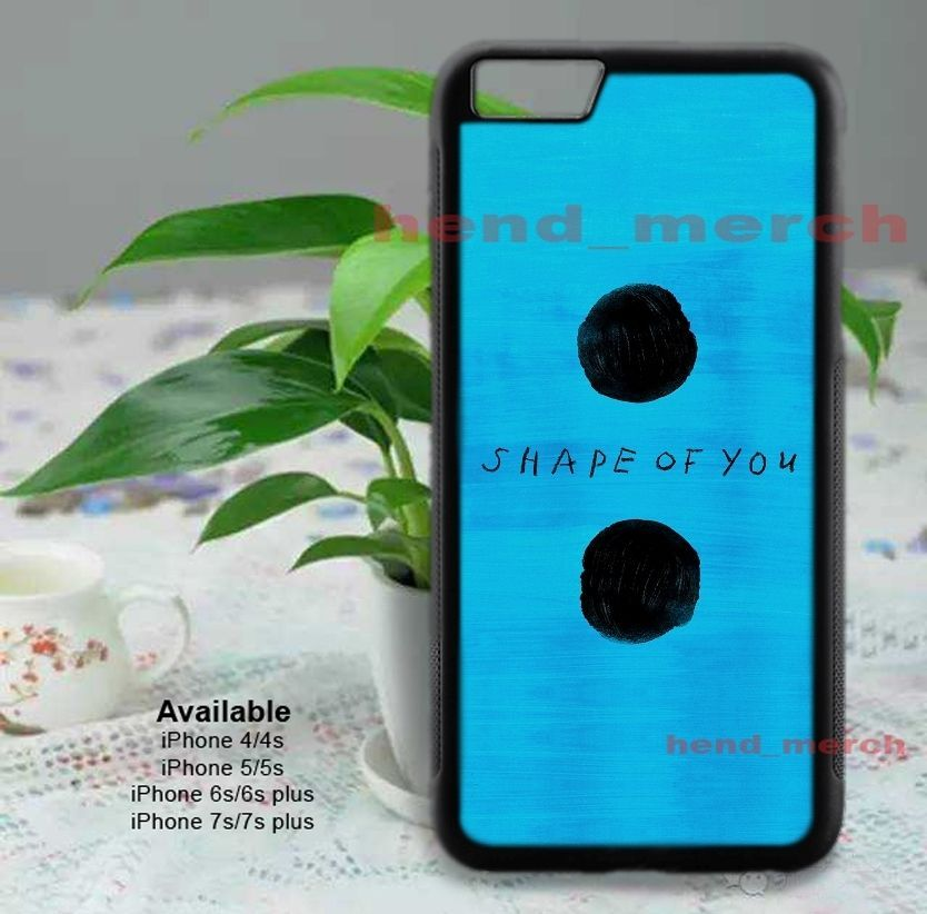 Ed Sheeran Shape Of You New Hot Rare Iphone Case Cover Best Design 7 Plus Movie Disney Katespade Ktm Coach Adidas Sport