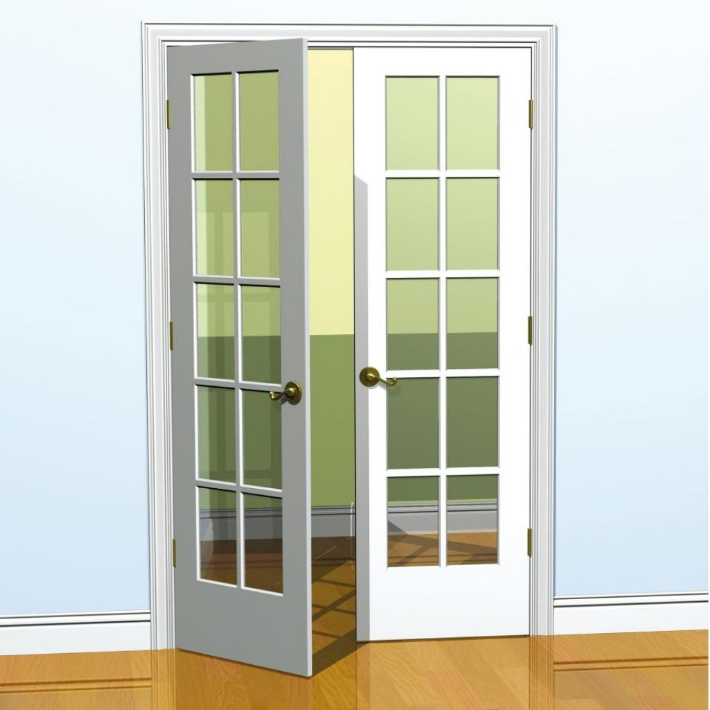6 Foot Wide Interior French Doors