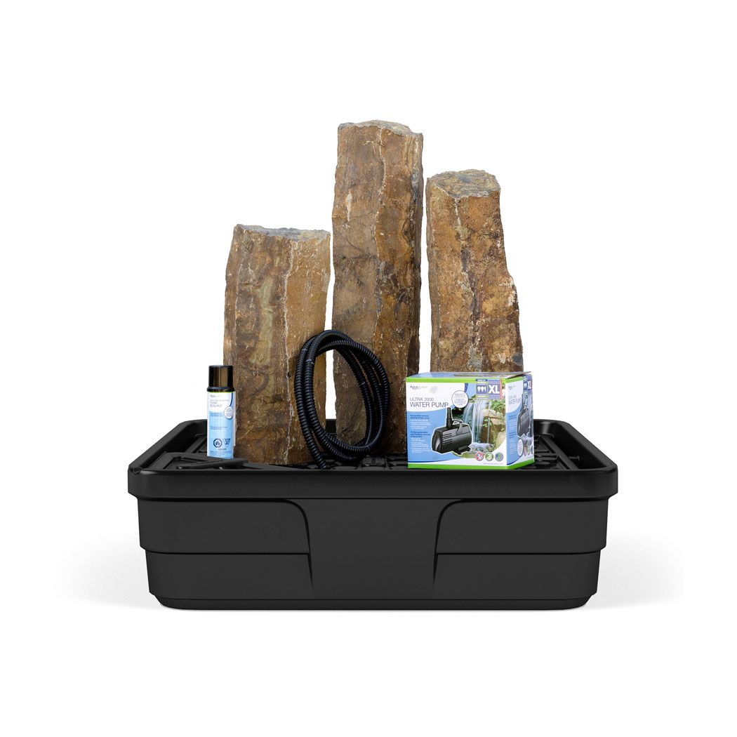 Patio Fountain Kits | Landscaping with fountains, Basalt ...