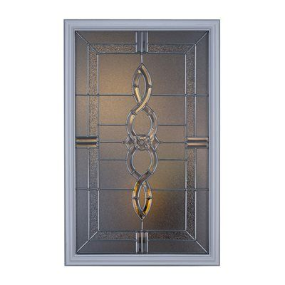 Shop ODL Canada 51000 Calista Decorative Entry Door Glass Insert at Loweu0027s Canada. Find our selection of entry door glass inserts u0026 sidelights at the lowest ...  sc 1 st  Pinterest & ODL Canada 51000 Calista Decorative Entry Door Glass Insert ...