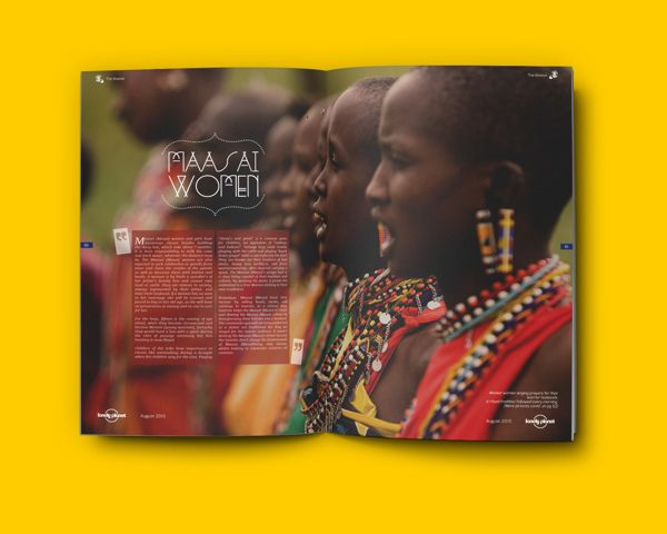 Africa on Editorial Design Served