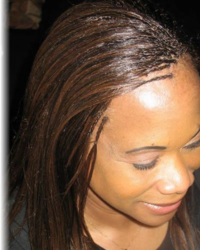 Invisible Braids By Diena Simply Natural Invisible Braids Micro Braids Hairstyles Micro Braids