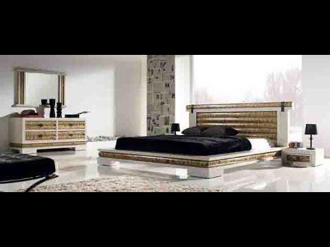 Camas de Madera Decoracion Dormitorios Estilo Etnicos Videos de