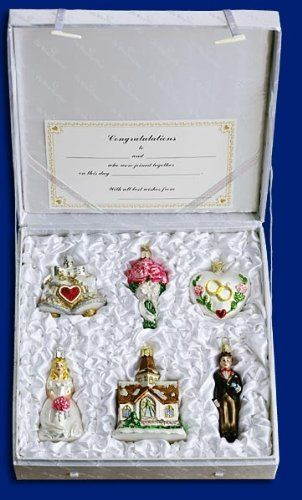 Old World Christmas Ornaments Sets In 2020 Old World Christmas Ornaments Old World Christmas Wedding Ornament