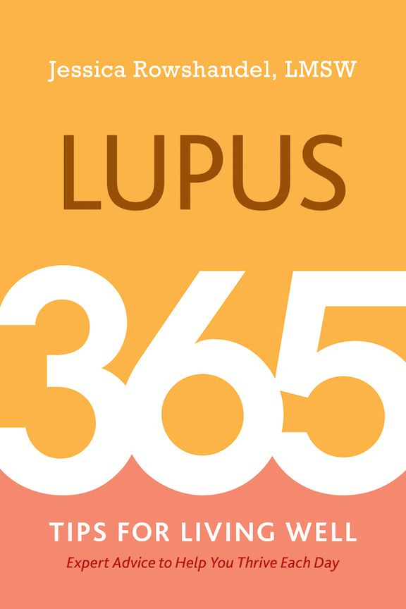 Lupus: 365 Tips for Living Well book cover