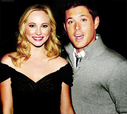 Candice accola dating jensen ackles
