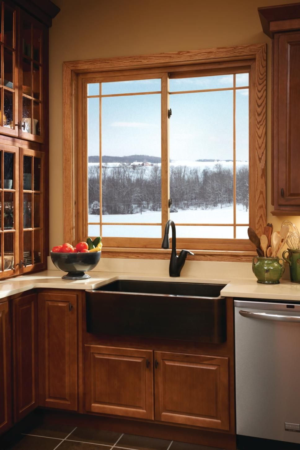 Sliding window over kitchen sink  how to choose the right kitchen windows for your home  window