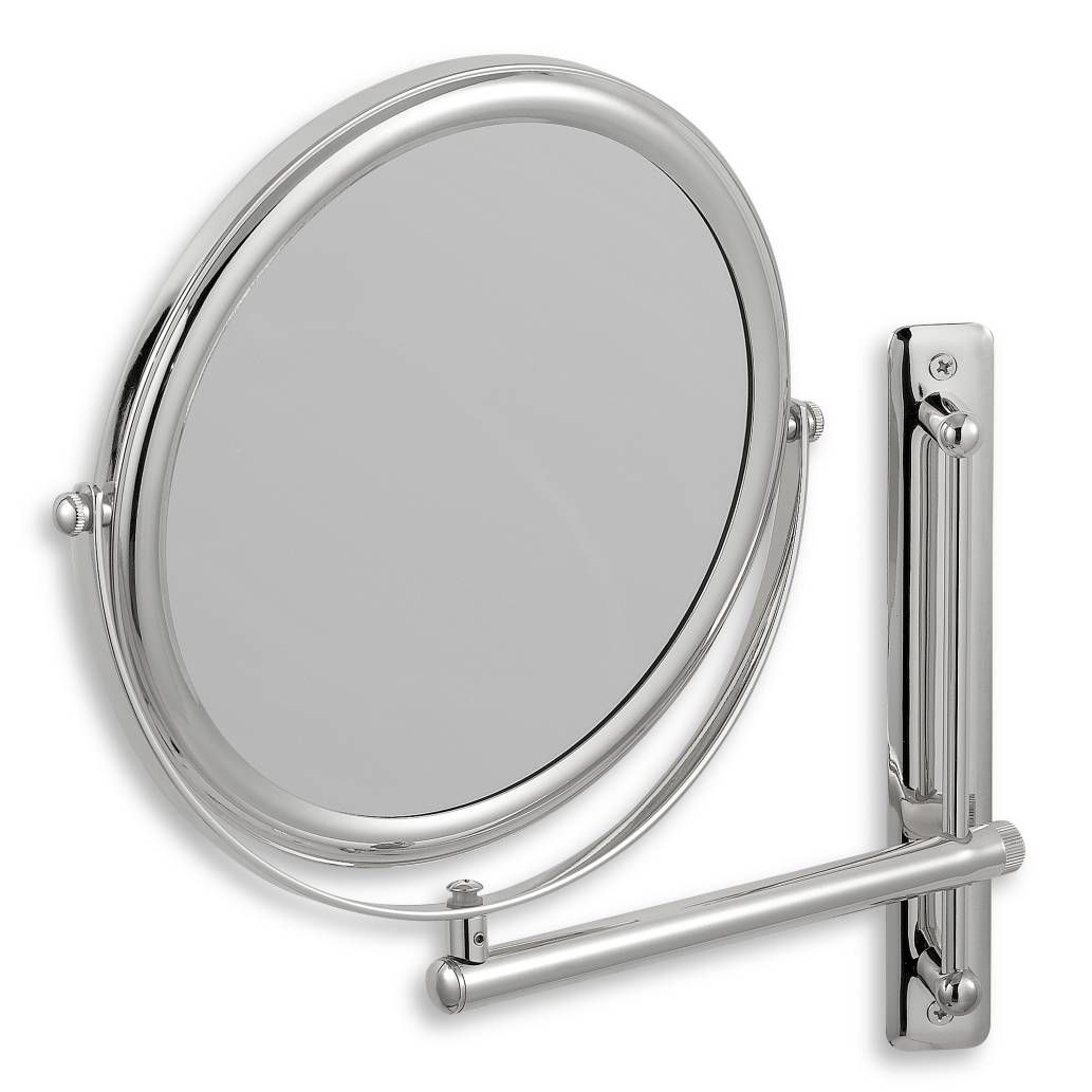 Product Image For Jerdon 3x 1x Chrome Finished Wall Mount Mirror