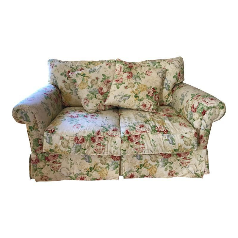 Astounding Sunny Floral Loveseat Products In 2019 Floral Sofa Gmtry Best Dining Table And Chair Ideas Images Gmtryco