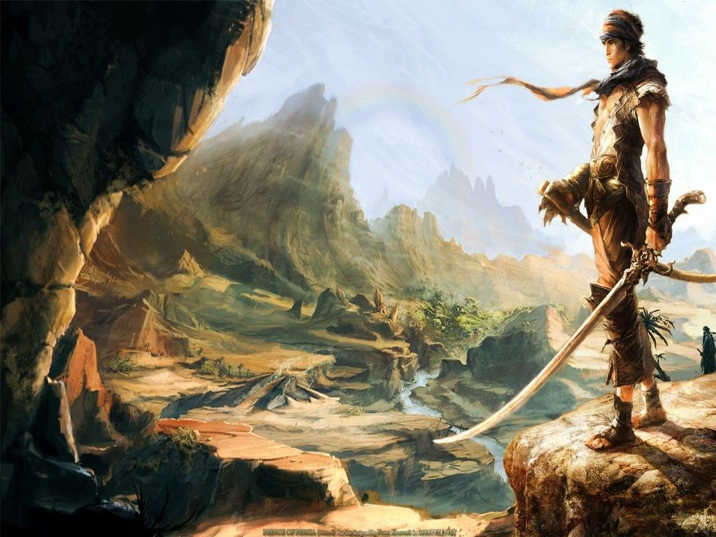 Prince Of Persia 2008 Wallpaper Princ Persii Fendomy Dizajn