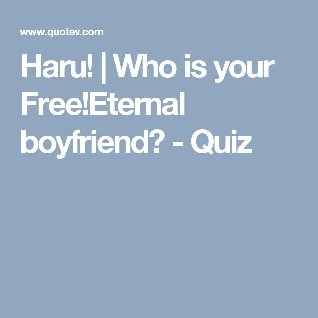 Free Iwatobi Swim Club Dating Quiz