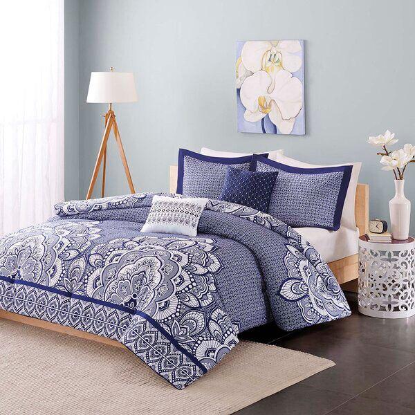 Kilmarnock Comforter Set in 2020   Comforter sets, Print ...