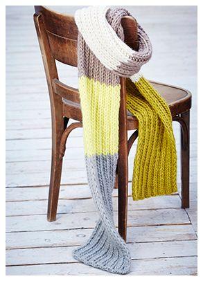 Ein Schal fürs Leben - Brigitte Aktion 2015