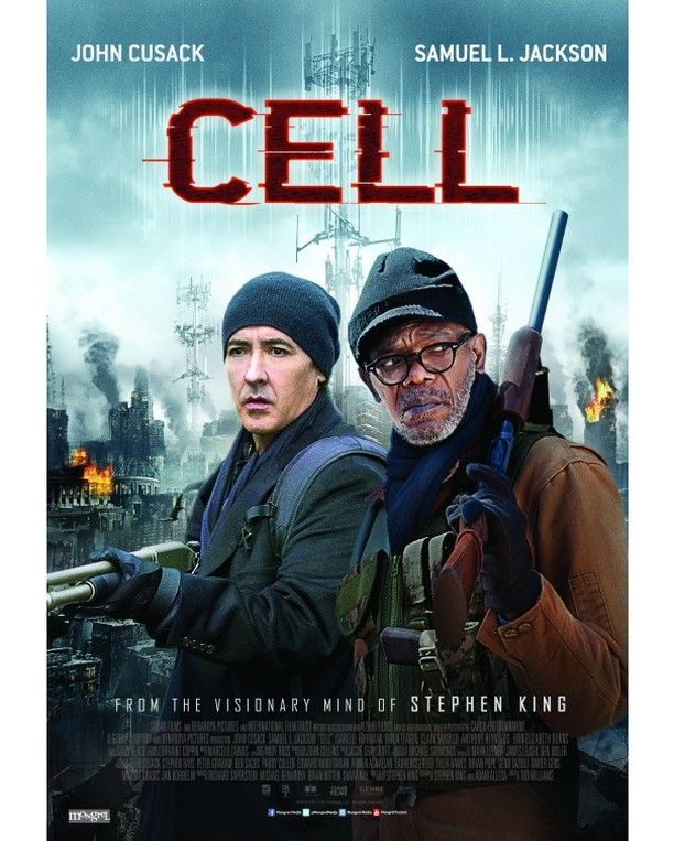 Using Cellphones to turn humans into zombies...can't imagine many of us escaping that. #Cell now showing @GenesisCinemas Lagos Abuja Warri and Portharcourt. Please visit http://ift.tt/1LHnTEM for more movie times. #Movie #Thriller #Hollywood #GenesisExperience #Cinemas